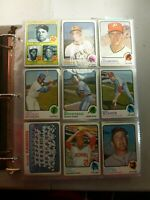 1973 Topps Baseball Complete Set EX-EXMT with Binder