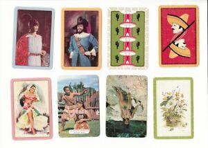 ga72 Vintage Swap Cards mixture of australian and NZ made  dancers cactus