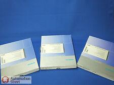 Siemens 6AV6613-1BA01-0AA0 WINCC FLEXIBLE 2004 RUNTIME 128 TAGS +PACK 512+ARCHIV