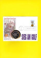 Numisbrief Sieg im Golf 1991 Desert Shield  - Desert Storm