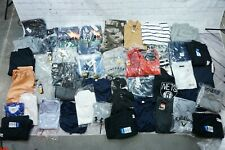 Lot of 38 Assorted New w/Tags Men's Large Sized Clothing Items -Bbr1299
