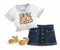 American Girl Julie's Peasant Top Outfit NEW in box ~ Doll NOT included ~