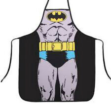 BAT MAN Kitchen Cooking Chef Novelty Funny  Bbq Party Apron Gift UK POW!