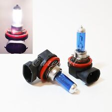 H8 Super White 5000K Xenon Halogen Auto OEM Head Lamp #Pt37 2Pc Bulbs Fog Lights