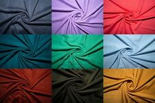 Multicolor Rayon Modal Spandex Lycra Stretch Fabric By The Yard