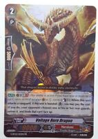 Cardfight 1x BT11//007EN Blue Flight Dragon Triple Rare Trans-core Dragon