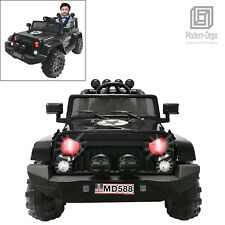 12V Jeep Style Electric Kids Ride On Car w/ Remote control, Facelift Grille