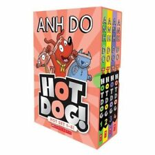 NEW Hotdog! Hot Set Books 1-4 Collection 4 Funny Books Kids Gift Set by Anh Do!