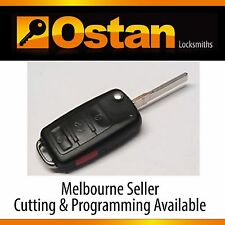 Complete Key & Remote to suit AUDI A8 2002-2009 (Aftermarket)