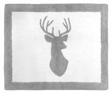 Baby Kids Floor Rug For Sweet Jojo Designs Grey White Woodland Deer Bedding Sets