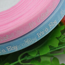 "1/2"" Organza ribbon ribbon Boy/girl baby show Craft Pink&Blue Upick"