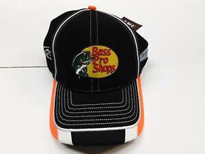 Tony Stewart #14 Bass Pro Shops Stretch Fit Hat, Size LG/XL Black/Gar