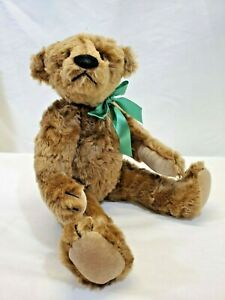 "LM Vintage Artist Bear Bearly There Teddianne 17"" Jointed Mohair Teddy Bear"