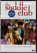 THE SADDLE CLUB MANE EVENT on a DVD of GIRL and HORSE Main BOOK SERIES Kid VIDEO