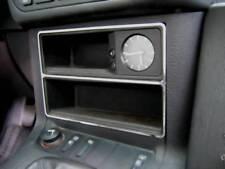 D BMW E36 Chrom Rahmen für Ablage vorne - nur 320i -Edelstahl poliert