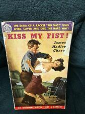 James Hadley Chase - Kiss My Fist - Eton E112 - 1952 - Noir GGA