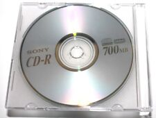 30 cd-r audio vierges SONY supremas boitier individuel 80 M 700 Mo stock France