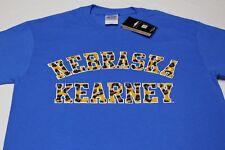 Nebraska Kearney Lopers - Guépard imprimé sur bleu - Taille XL T-shirt