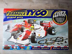 Tyco Formula Grand Prix X3 Racing Set Total Control Racing (TCR)