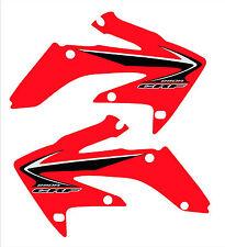 2004-2009 Honda Crf 250 Radiador Scoop gráficos, etiquetas, etiquetas engomadas