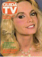 rivista GUIDA TV ANNO 1982 NUMERO 7 MARIA GIOVANNA ELMI