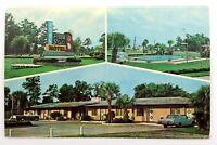 Peach State Motel Brunswick Georgia Postcard Divided Back Chrome Posted N086