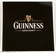 Guinness Draught Sticker, Beer decal, Irish Stout, stick on car, laptop