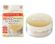 [KANEBO FRESHEL] BB & CC Cream NATURAL Face Beauty Powder SPF26 PA++ 10g JAPAN