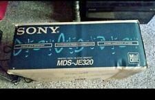 Sony Mds-Je320 Home Recording Mini Disc Deck In Original Box
