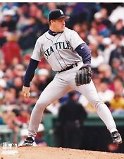 Scott Sanders Licensed Vintage Baseball 8x10 Photo Seattle Mariners MLB (A)