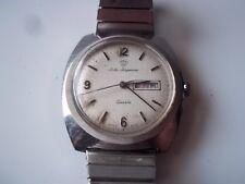 Vintage Jules Jurgensen quartz watch. For repair.  Pre-owned.