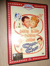 DVD CAN CAN SINATRA MacLAINE CHEVALIER JOURDAN I CLASSICI DEL CINEMA MUSICAL