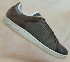 973c699d3 Adidas Stan Smith Brown Woven Leather Fashion Sneaker 651852 Men s US 13    EU 48