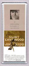JOE KIDD movie poster LARGE 'WIDE' FRIDGE MAGNET - CLINT EASTWOOD 70's Classic!