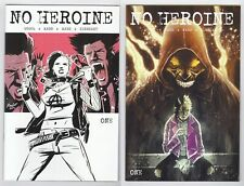 NO HEROINE #1 COVER A AND B FIRST PRINT TWO BOOK SET TEMPLESMITH SOURCE POINT