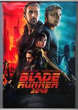 Cinema Poster: BLADE RUNNER 2049 2017 (Main One Sheet) Harrison Ford