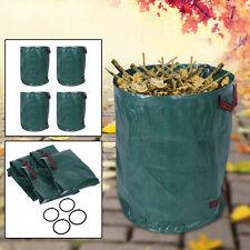 4x 270L Abfallsack Müllsack Sack Set Gartenabfallsack Laubsack Gartensack Neu SU