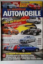 Le moniteur Automobile 4/09/2013; Spécial Salon de Francfort/ Mercedes classe s