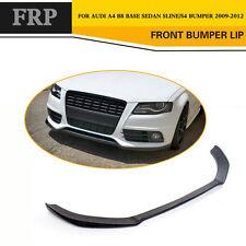 Auto Front Bumper Chin Lip Spoiler Fit for Audi A4 B8 Sedan S4 Sline 2009-2012