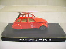 SOLIDO CITROEN 2 CV ALSA-COLLECTIONS EDITION LIMITEE