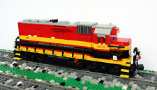 Custom Lego Kansas City Southern GP22ECO train engine KCS
