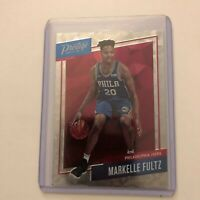 Markelle Fultz 2017-18 Prestige Micro Etch Silver Rookie Philadelphia 76ers RC