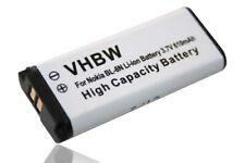 original vhbw® AKKU für NOKIA 7280 7380 BL-8N BL8N Batterie