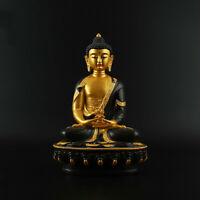 """8.1"""" Tibetan Buddhism Resin Painting Shakyamuni Amitabha Buddha Statue 阿弥陀佛"""