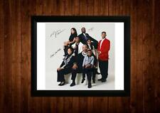 FRESH PRINCE OF BEL AIR CAST WILL SMITH SIGNED PP FRAMED A4 GIFT IDEAS RETRO TV