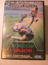 SEGA MEGA DRIVE WORLD CUP ITALIA 90 Partita di Calcio (NO ISTRUZIONI)