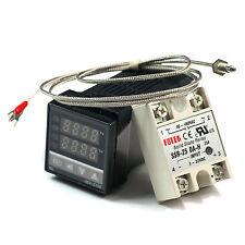 PID Digital Temperature Control Controller +  Sensor + SSR 25DA
