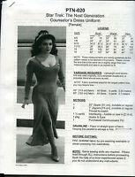 NEWLY REVISED Star Trek TNG Next Gen Deanna Troi Uniform Pattern  PTN-020