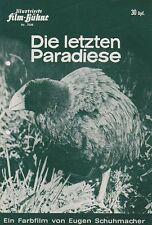 LETZTEN PARADIESE (IFB 7526, '67) -  EUGEN SCHUHMACHER