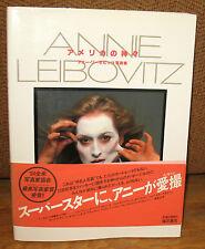 SIGNED Handprint Annie Leibovitz Photographs Japanese ED First Book PB Obi DJ